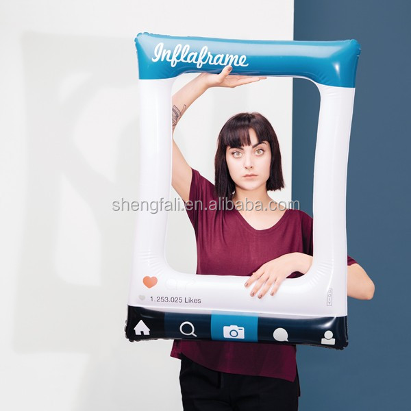 Custom Blow Up Air Frame Inflatable Photo Frame For Selfie Buy