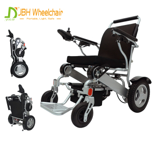 Travel wheel chairs small portable folding electric wheelchair long driving range 25km