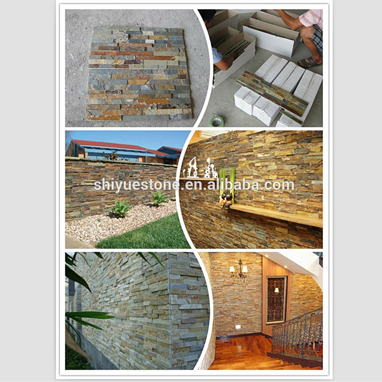 Natural Decorative Slate Stone For Exterior Wall House
