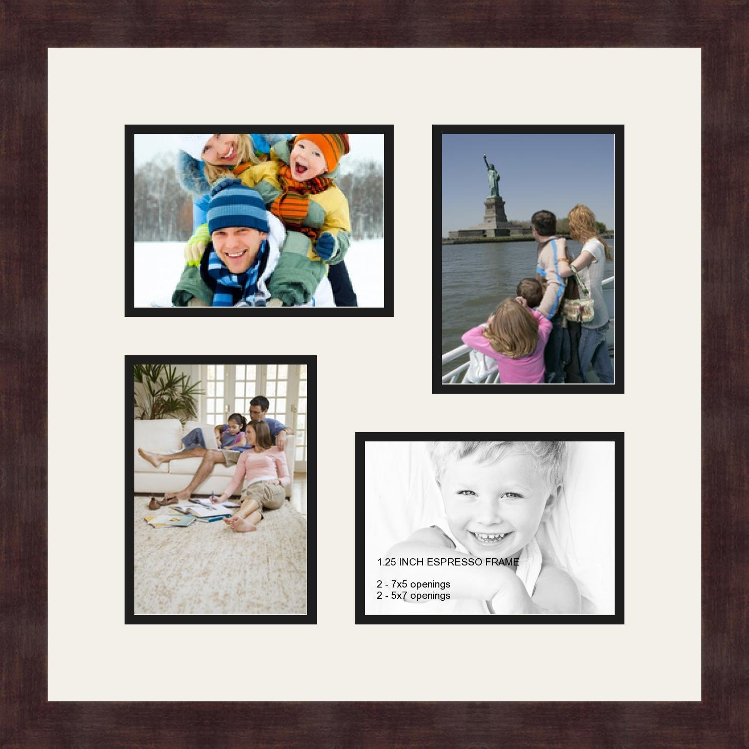 Buy Art to Frames Double-Multimat-1600-767/89-FRBW26079 Collage ...
