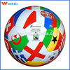 top sell brand logo advertising country flag soccer ball