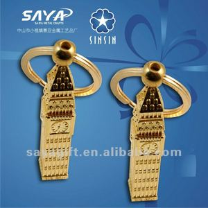 Gold souvenir lego keychain(KC4006 we)