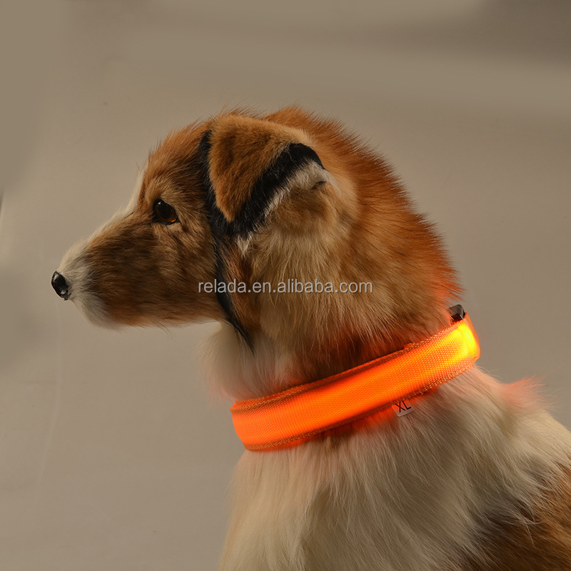 Factory wholesale Cheapest dog supplies Pet leash and harness fluorescent dog training collar