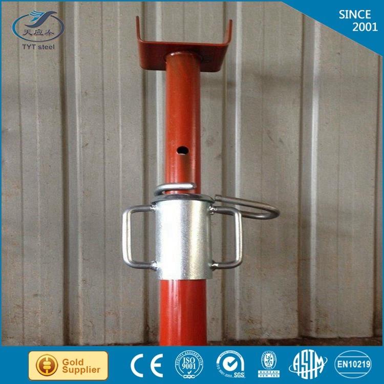 Adjustable Steel Post Shores : Scaffolding adjustable height steel props