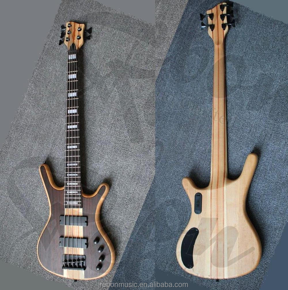 weifang rebon 5 string active pickup neck through body electric bass guitar buy electric bass. Black Bedroom Furniture Sets. Home Design Ideas