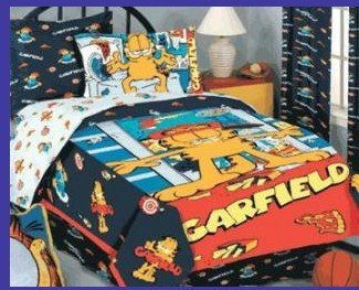 Cartoon Bedding Garfield Twin Comforter Buy Comforter Product On Alibaba Com