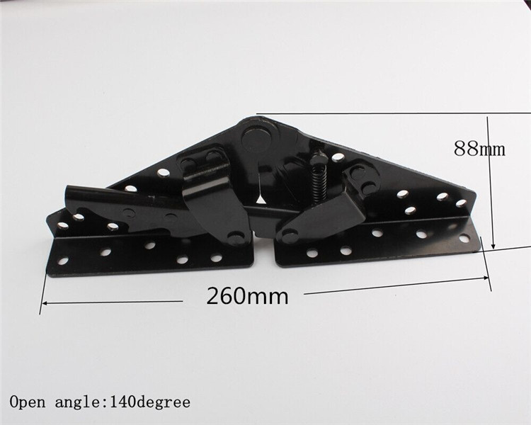 China Hardware Town Slatted Foldable Bed Bracket Click Clack Sofa