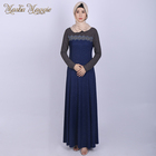 2019Elegant Arab Women Muslim Dress High Quality New Dubai Abaya Islamic Clothing Latest Kaftan Malaysia Kebaya