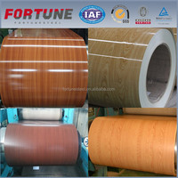 Wooden Grain Color Coated Galvanized Steel Coil PPGI Prepainted Steel Construction Sheet Roof Material