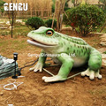 Frog model for outdoor decoration