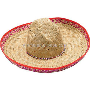 High quality straw hat mexican sombrero hat with cheap price for adults  H2289 5059b9a962d9