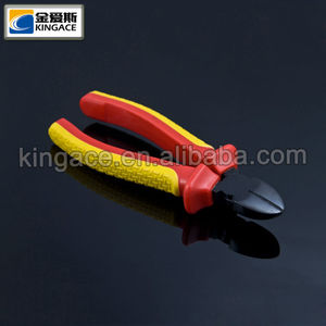 China New Style Black Finished Diagonal Cutting Pliers