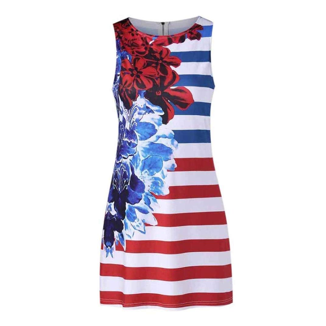 184d9270dde94c Get Quotations · Summer Floral USA American Flag Tank Top for Women Juniors  July 4th Party Racerback Vest Casual