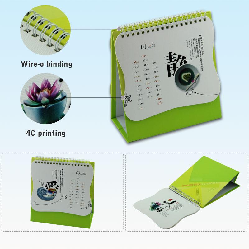 Unique Table Calendar Design : Colorful professional table calendar buy
