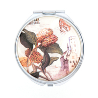 metal mirror trend 2018 china factory direct sale low price compact mirror