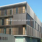 electric ventilation louvers /motorized louver/louver shutter automatic system aluminum louver devices