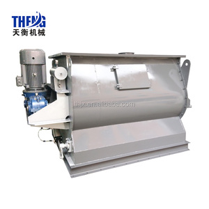 2000Kg Horizontal Double Shaft Paddle Non-gravity Mixer for Wall Putty Powder