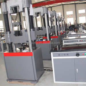 steel structure materials laboratory used hydraulic tensile testing machine