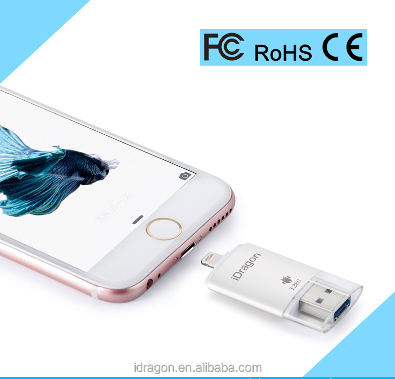 low cost Smart mini micro usb flash drive 128gb for iphone 7/8