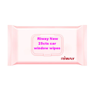 Super September Purchasing Riway New 25cts car window wipes