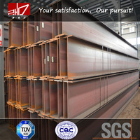 ASTM SS400 Structural Hot Rolled h iron beam h steel