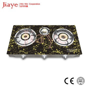 High Quality World First Heat Recycle Intelligence Asia Glass Table Top Gas Stove  JY TG3012