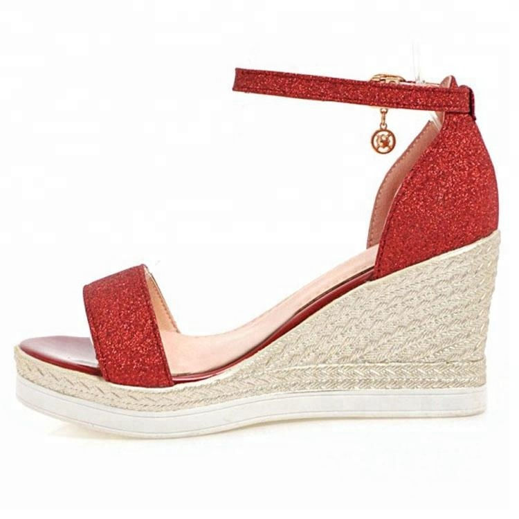 2018 Cheap Price 8cm Platform Women Wedges Shoes <strong>Sandals</strong>