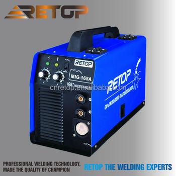 Inverter Ce 230v Arc Welder Ac Dc Mig/mma 165a Inverter Welder ...
