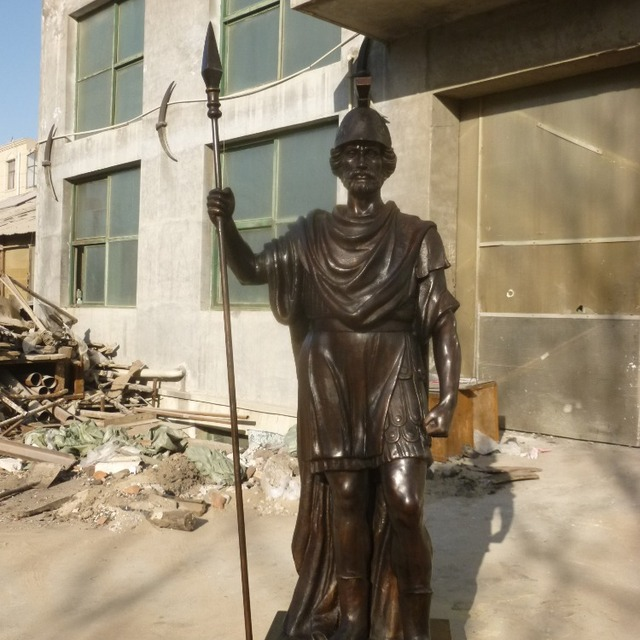 PFM China Outdoor Garden Antique Bronze Warrior Statues