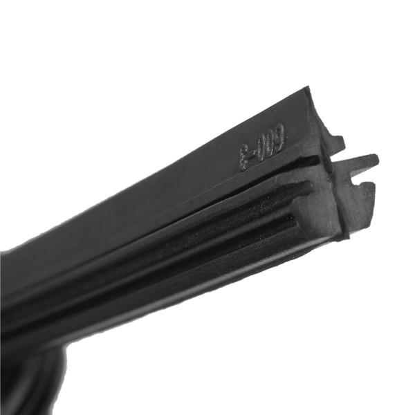 Новый 1x универсальный 24 6 мм черный лезвие силиконовый стеклоочиститель безрамное для автомобиля автобус лобовое стекло