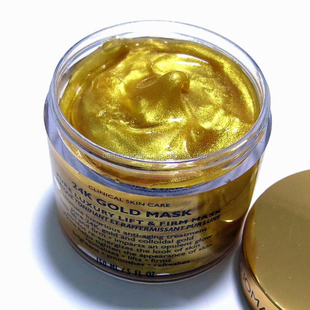 Anti aging hydrating peel off 24k collagen gold face mask