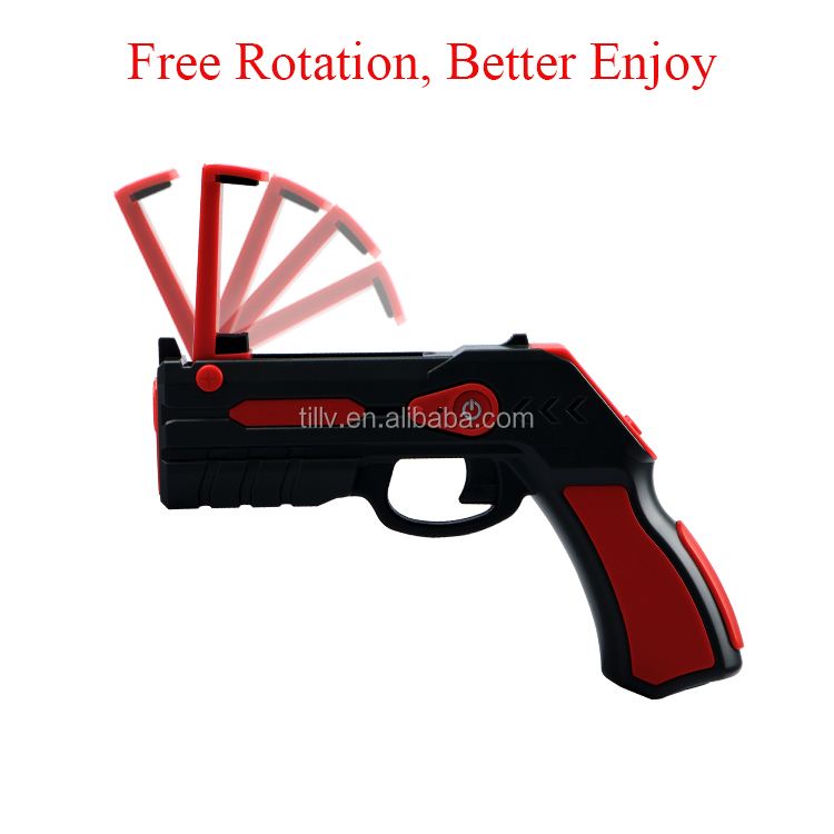 Electronic Toy Gun Style and plastic bullet gun Type gun with shooting games