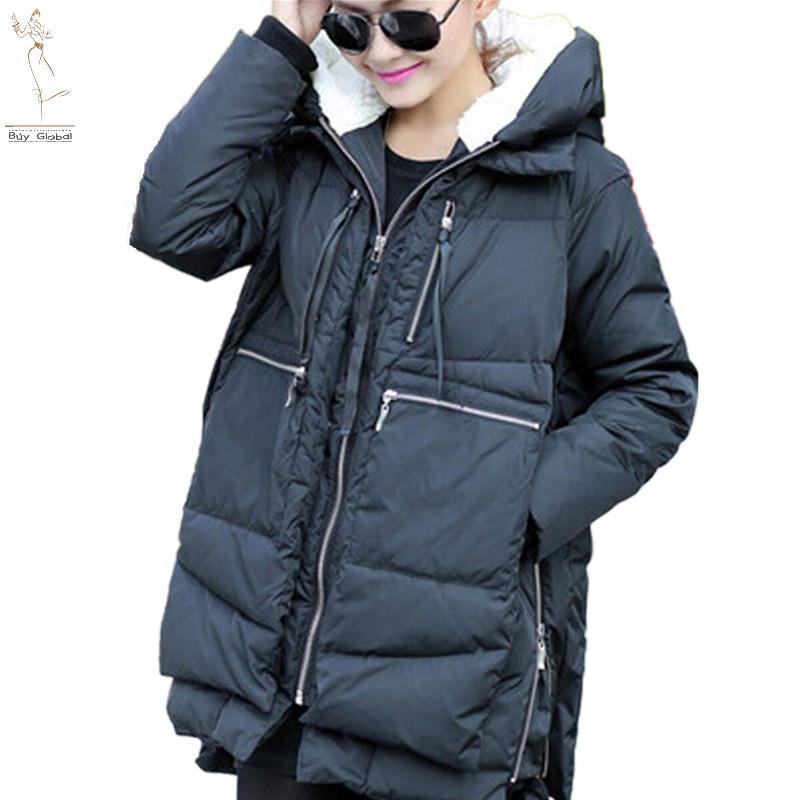 Warmest womens down jacket
