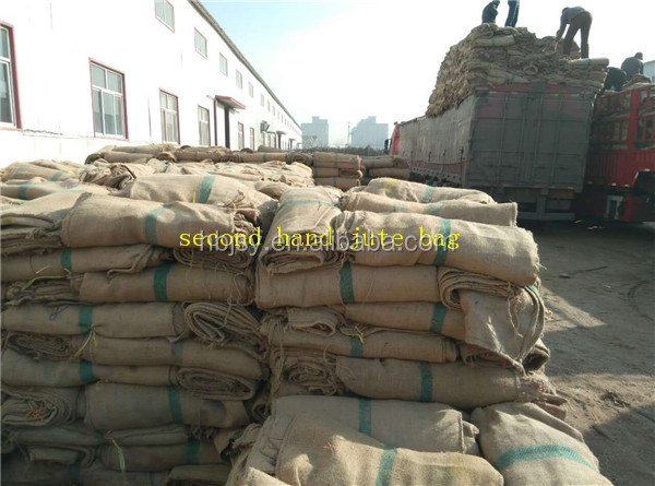Bottom price Cocoa and Coffee USED GUNNY BAGS JUTE BAGS