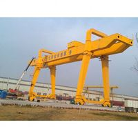 Double girder track mounted Railway crane manufacturers