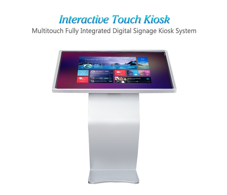 43 Inch Multi Media LCD Touch Screen Kiosk/cheap touch screen all in one pc
