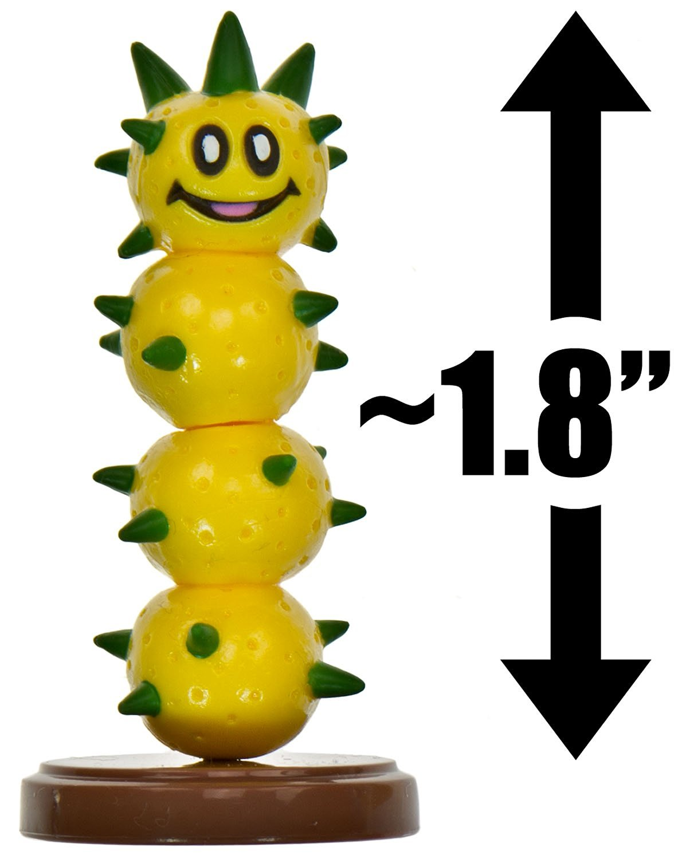 "Pokey ~1.8"" Mini Figure [New Super Mario Bros. Wii Choco Egg Series - NO CANDY] (Japanese Import)"