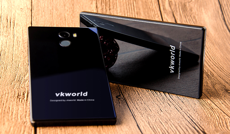 New Mobile Phone VKworld Mix Plus Bezel Less Phone Dual Sim 5.5 inch Android Smartphone 4g LTE