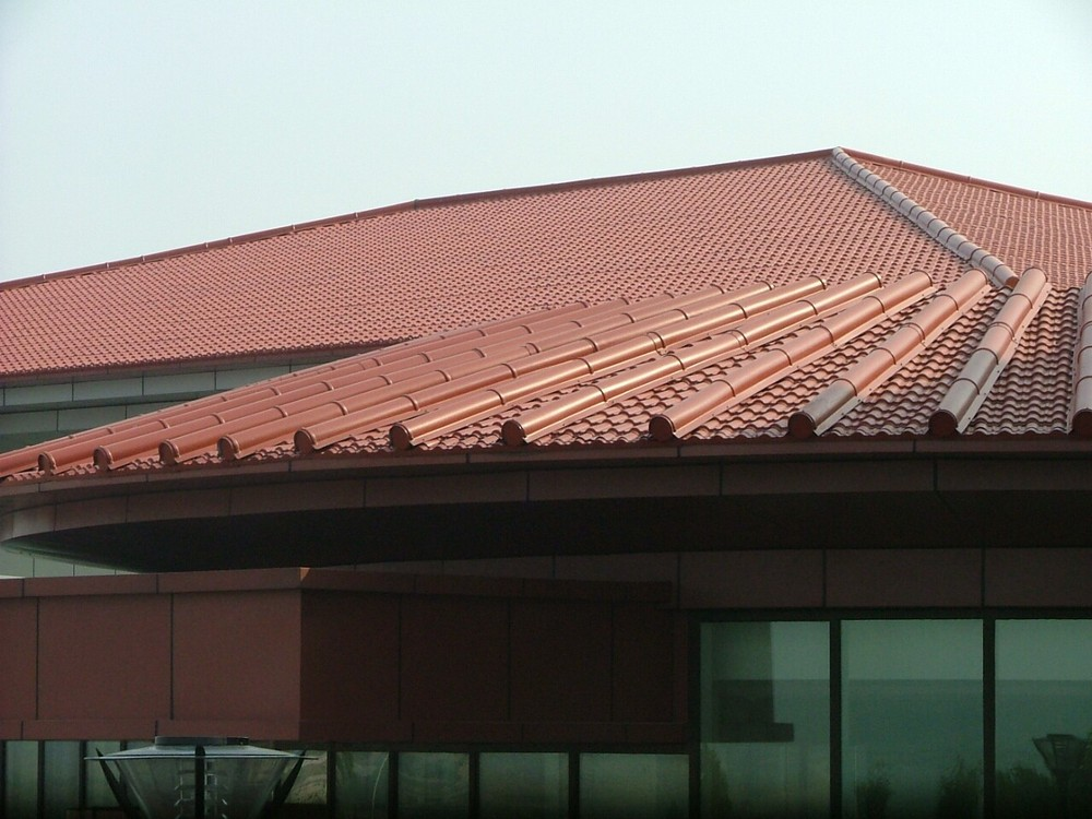 Plastic Roof Tiles Look Alike Terracotta Clay Tile Buy