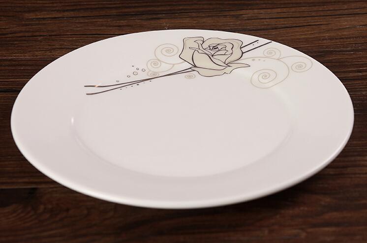 Wholesale ceramic plate cheap bulk white dinner plates for wedding & Wholesale Ceramic Plate Cheap Bulk White Dinner Plates For Wedding ...