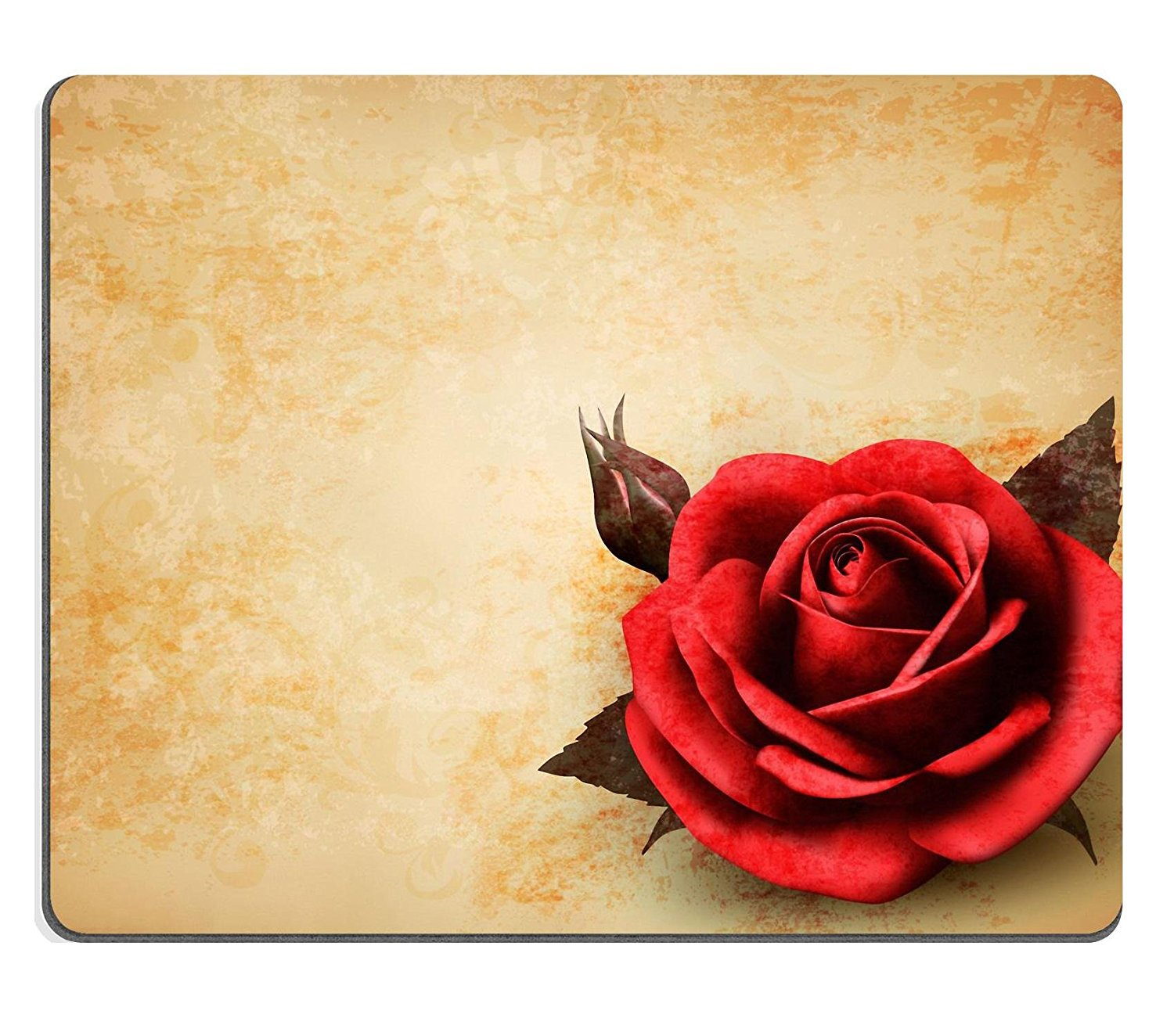 Qzone Mousepads Abstract bright background with pink flowers IMAGE 19196274 Customized Art Desktop Laptop Gaming mouse Pad