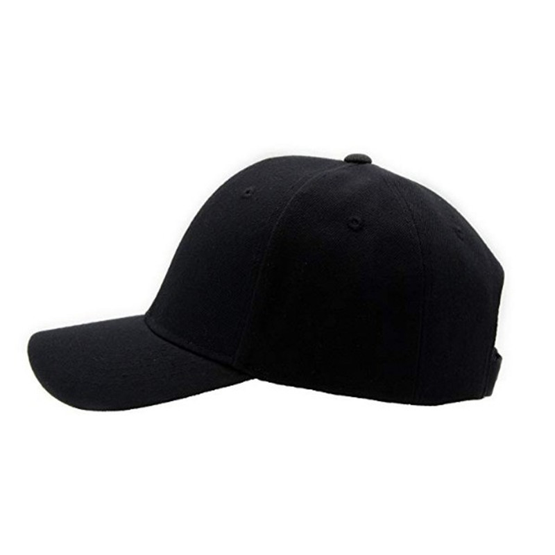 Promo customized high quality baseball caps wholesale