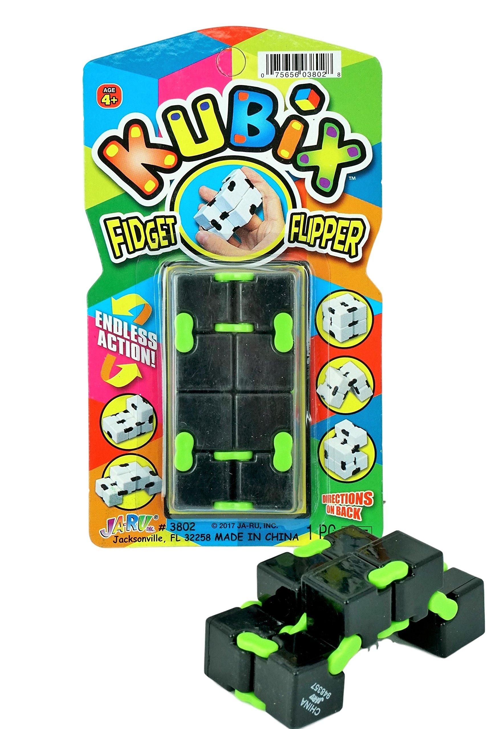 Kubix Speed Cube by JA-RU | Fidget Cube Flip It Endlessly Pack of 1 | Item #3802