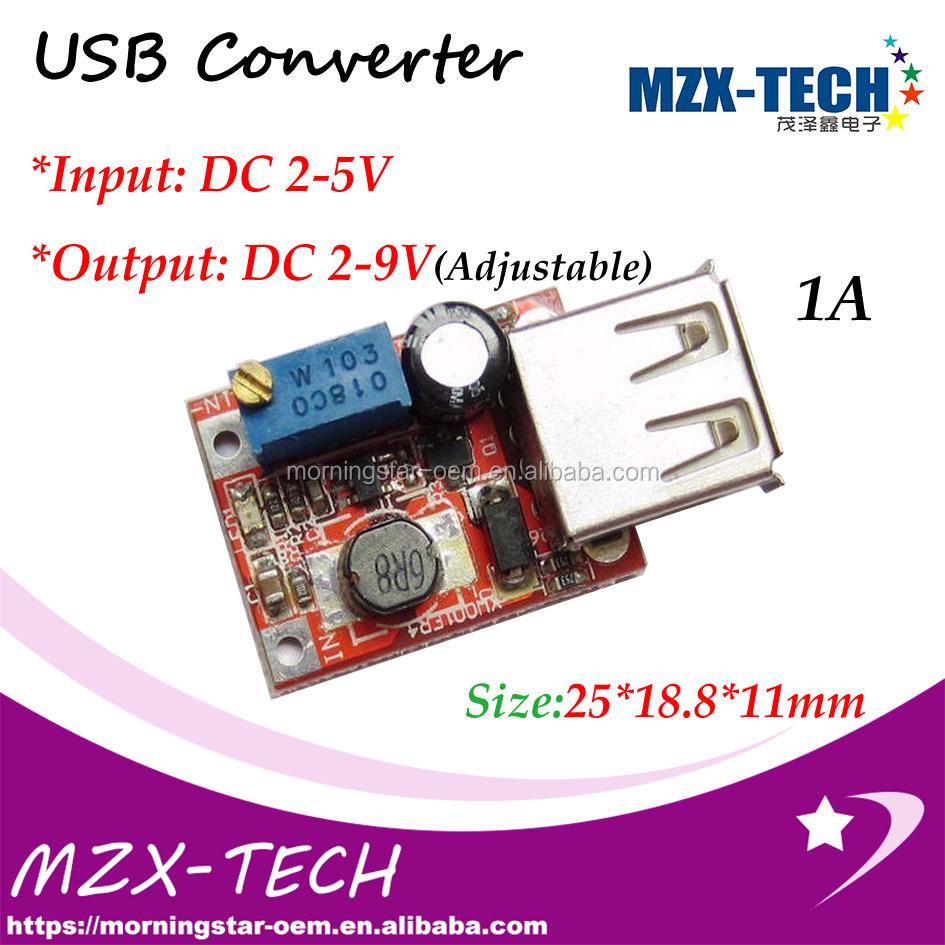 Usb Mobile Phone Pcb Circuit Board 2 5v To 9v Adjustable 1a3v 36 36v 8v 48v Dc Step Up Converter 5w Max Buy Charger