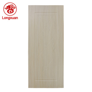 Best price PVC wood composite bathroom toilet door design for hotel home use