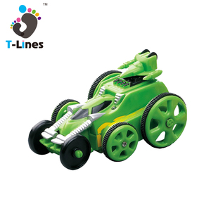 Timeline mini 360 rolling rc stunt car with lights
