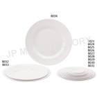 High Quality Restaurant use White Round Melamine Charger Plate