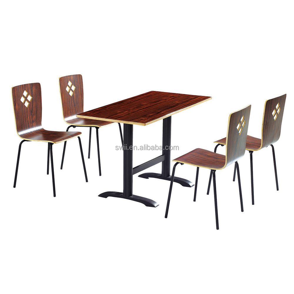 Fast Food Table And Chair China Wood Dining Room Furniture South Africa