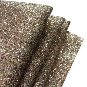 Wenzhou pu glitter fabric shiny leather bag material for shoes and handbag artificial leather glitter