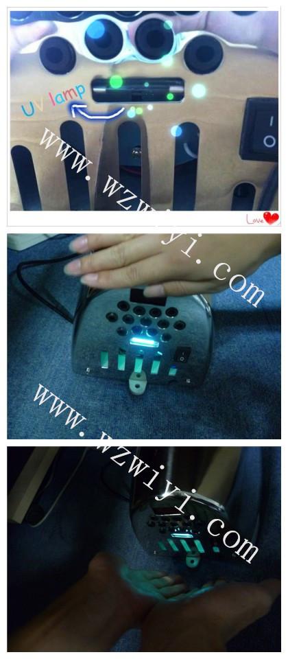 2017 Wzwiyi Uv Lamp Wall Mounted Electric Hand Dryers - Buy Uv Hand Dryer,Electric Hand Dryers ...